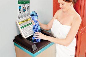 Suitmate fürdőruha centrifuga használat közben